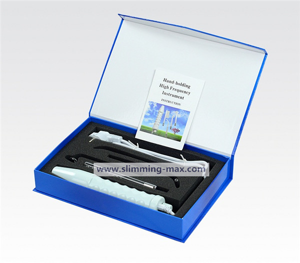 portable high frequency derma wand