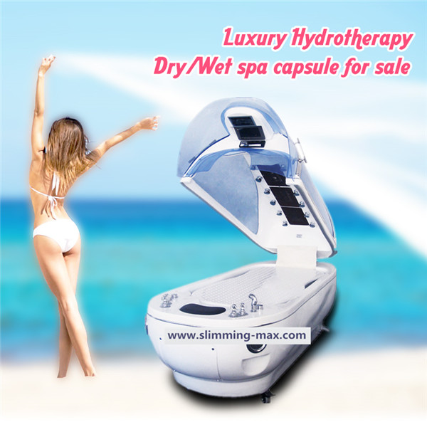 Luxury Versatile 3C Dry And Wet SPA Capsule